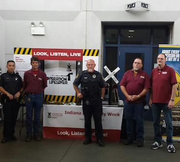 OPERATION LIFESAVER STATION SAFETY BLITZ DURING RAIL SAFETY WEEK